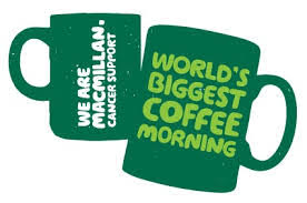 Macmillan Cancer - Worlds Biggest Coffee Morning