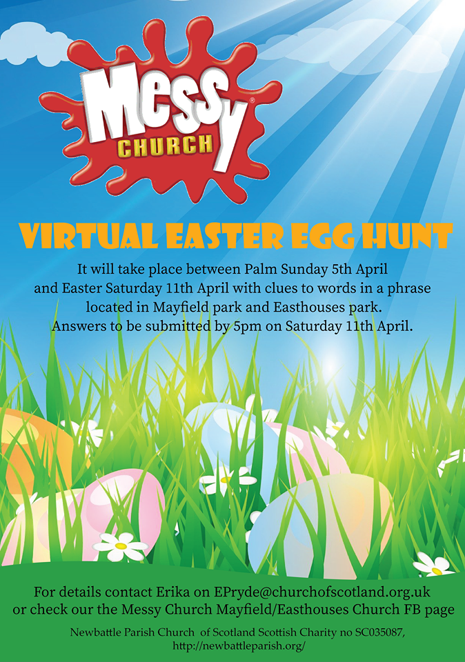 Poster - Virtual Easter Egg Hunt (Easter 2020)