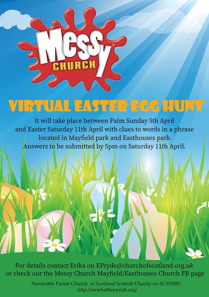 Poster - Virtual Easter Egg Hunt (Easter 2020)